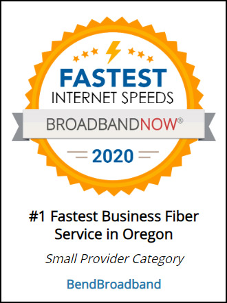 #1 Fastest Business Internet in Oregon