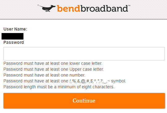 Add A New Bendbroadband User Account Bendbroadband