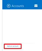 Microsoft Mail for Windows 8/8.1 Accounts
