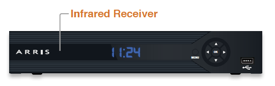 Alpha TV infared receiver